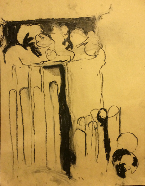 PWS charcoal drawing
